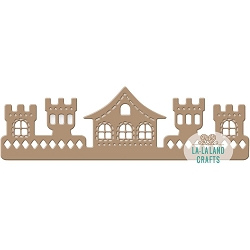 La-La Land Crafts - Die - Castle Border