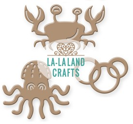 La-La Land Crafts - Die - Sea Critters