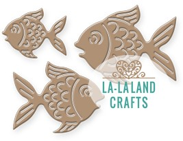 La-La Land Crafts - Die - Fishes