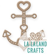 La-La Land Crafts - Die - Heart Anchor