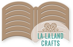 La-La Land Crafts - Die - Open Book