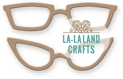 La-La Land Crafts - Die - Glasses (set of 2)