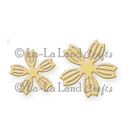 La-La Land Crafts - Die - Notched Flowers Small