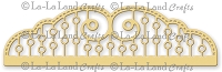 La-La Land Crafts - Die - Fancy Doily Border