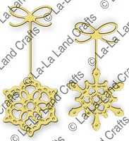 La-La Land Crafts - Die - Snowflake Ornaments