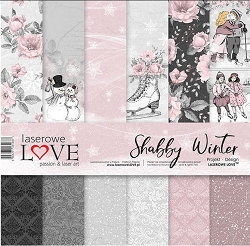 Laserowe Love - Shabby Winter Collection Kit