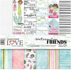 Laserowe Love - Watermelon Friends Collection Kit