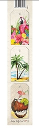 Laserowe Love - Vintage Tropical Island Tag Strip #3