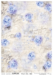 Lexi Design - Winter tales Rice Paper #3