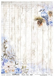 Lexi Design - Winter tales Rice Paper #7