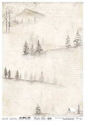 Lexi Design - Winter tales Rice Paper #9