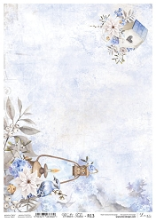Lexi Design - Winter tales Rice Paper #13