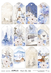Lexi Design - Winter tales Rice Paper #15