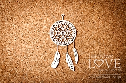Laserowe Love Chipboard - Indiana Dreamcatcher