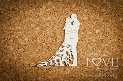 Laserowe Love Chipboard - Couple in love - Wedding Day
