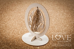 Laserowe Love Chipboard - Hanging easter egg - Yellow Spring