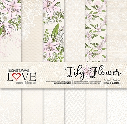 Laserowe Love - Lily Flower Collection Kit