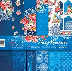 Laserowe Love - Navy Romance Collection Kit