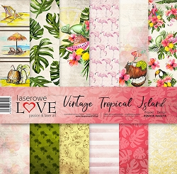 Laserowe Love - Vintage Tropical Island Collection Kit