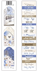Lexi Design - Winter Tales Tag Strip #3