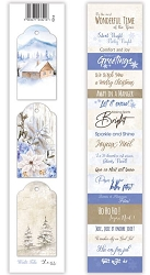 Lexi Design - Winter Tales Tag Strip #5