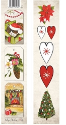 Laserowe Love - Vintage Christmas Tag Strip #3