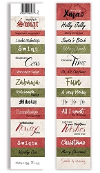 Lexi Design - Christmas in Town Tag Strip #7 Extra