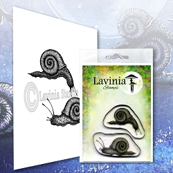 Lavinia Stamps - Clear Stamp - Snail Set
