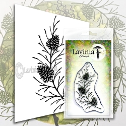Lavinia Stamps - Clear Stamp - Fir Cone Branch