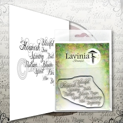 Lavinia Stamps - Clear Stamp - Words of Spring