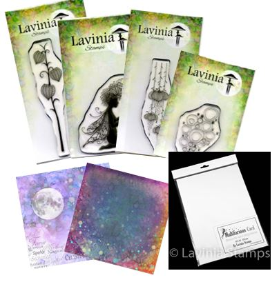 Lavinia - New Stamps & Multifarious Card!
