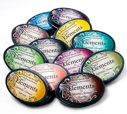 Lavinia Stamps - Elements Premium Dye Ink BUNDLE of all 12 Ink Pad colors (Save $16)