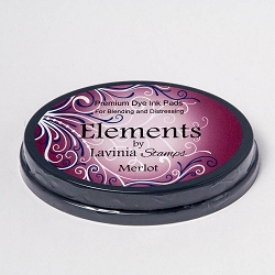 Lavinia Stamps - Merlot Elements Premium Dye Ink Pad