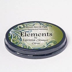 Lavinia Stamps - Olive Elements Premium Dye Ink Pad