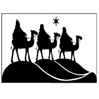 Lavinia Stamps - Clear Stamp - Three Kings