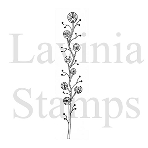 Lavinia Stamps - Clear Stamp - Zen Rose