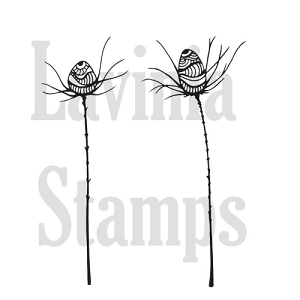 Lavinia Stamps - Clear Stamp - Zen Thistle