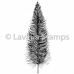 Lavinia Stamps - Clear Stamp - Feather