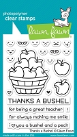 Lawn Fawn - Clear Stamps - Thanks A Bushel