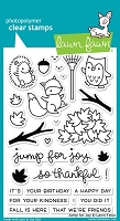 Lawn Fawn - Clear Stamps - Jump for Joy