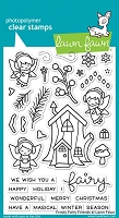 Lawn Fawn - Clear Stamps - Frosty Fairy Friends