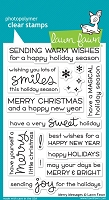Lawn Fawn - Clear Stamps - Merry Messages
