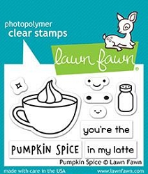 Lawn Fawn - Clear Stamps - Pumpkin Spice