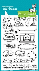 Lawn Fawn - Clear Stamps - Christmas Dreams