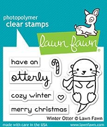 Lawn Fawn - Clear Stamps - Winter Otter