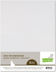 Lawn Fawn - 8.5x11 specialty paper - Sparkle Pixie Dust