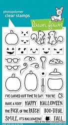 Lawn Fawn - Clear Stamps - Pick Of The Patch