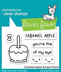 Lawn Fawn - Clear Stamps - Caramel Apple