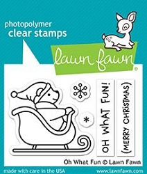 Lawn Fawn - Clear Stamps - Oh What Fun