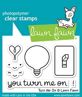 Lawn Fawn - Clear Stamps - You Turn Me On